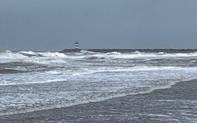 Rustmoment in de natuur – naar het strand